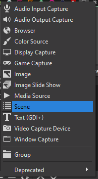 OBS Nested Scene As Source